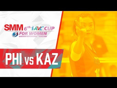 Philippines def. Kazakhstan, 3-1 (REPLAY VIDEO) 2018 AVC Cup | September 18