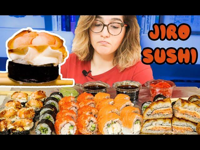 Jiro Sushi / НЕОЖИДАННО #sushi #roll #суши #роллы #еда