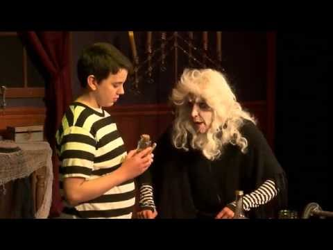 "Christian Thomas singing ""WHAT IF"" from ""The Addams Family-The Musical"""