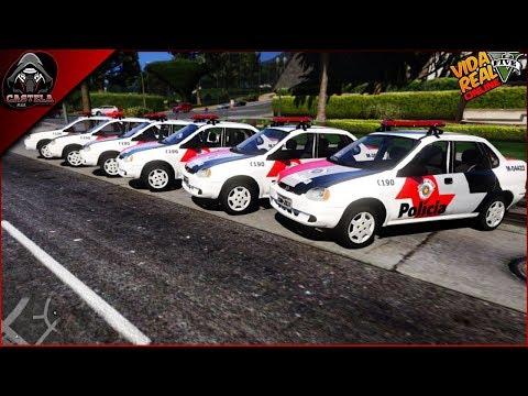 GTA 5 ROLEPLAY - VIDA DE POLICIA? SEGURA BANDIDAGEM