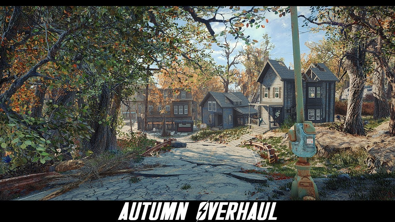 Autumn Overhaul at Fallout 4 Nexus - Mods and community