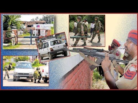 Terrorist Attack on Dinanagar (Gurdaspur) Police Station. Spl report on Ajit Web TV.