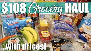 $108 Walmart Delivery & Ibotta Grocery Haul