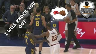 "NBA ""PUNCHING AND FIGHTING"" Moments"
