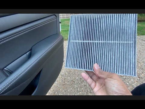 HOW TO REPLACE THE CABIN AIR FILTER IN THE 2019 NISSAN ALTIMA