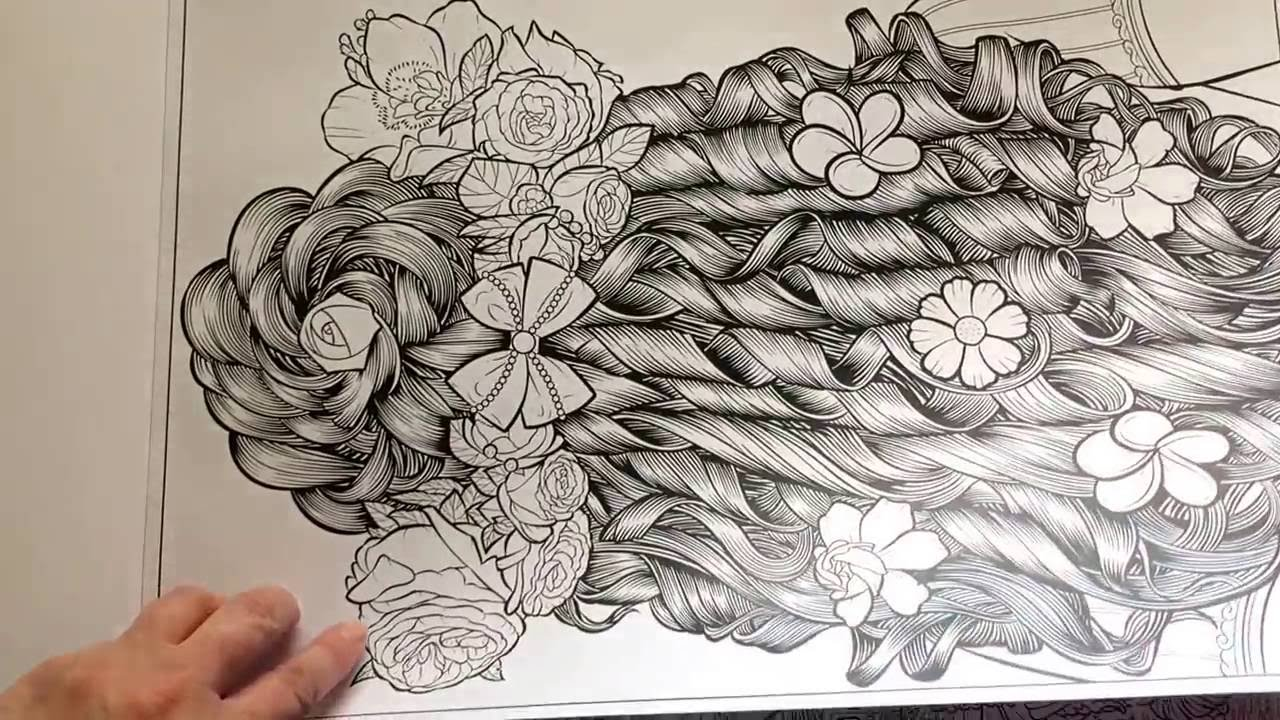 Adult Coloring Book Variety Posters #1 by Jess Perna - YouTube