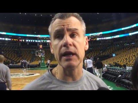 Donovan: Shootaround in Boston