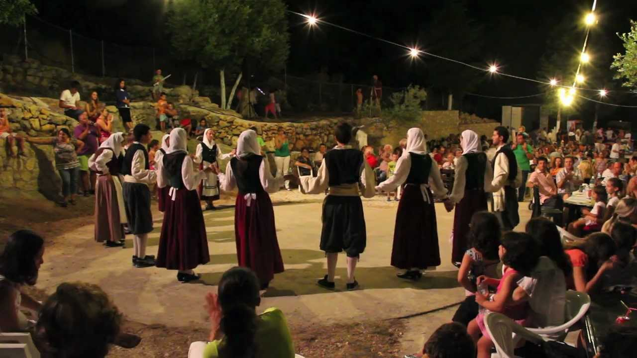 Traditional Greek Music And Dance Night, Kefalonia Island, Greece