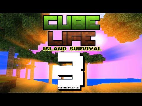 Let's Play Cube Life Part 3 : Die Insel Baustelle