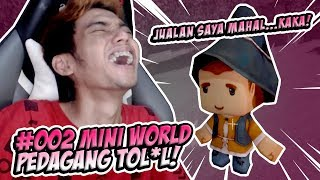 DIGANGGUIN ORANG INI MULU! - MINI WORLD SURVIVAL INDONESIA #2