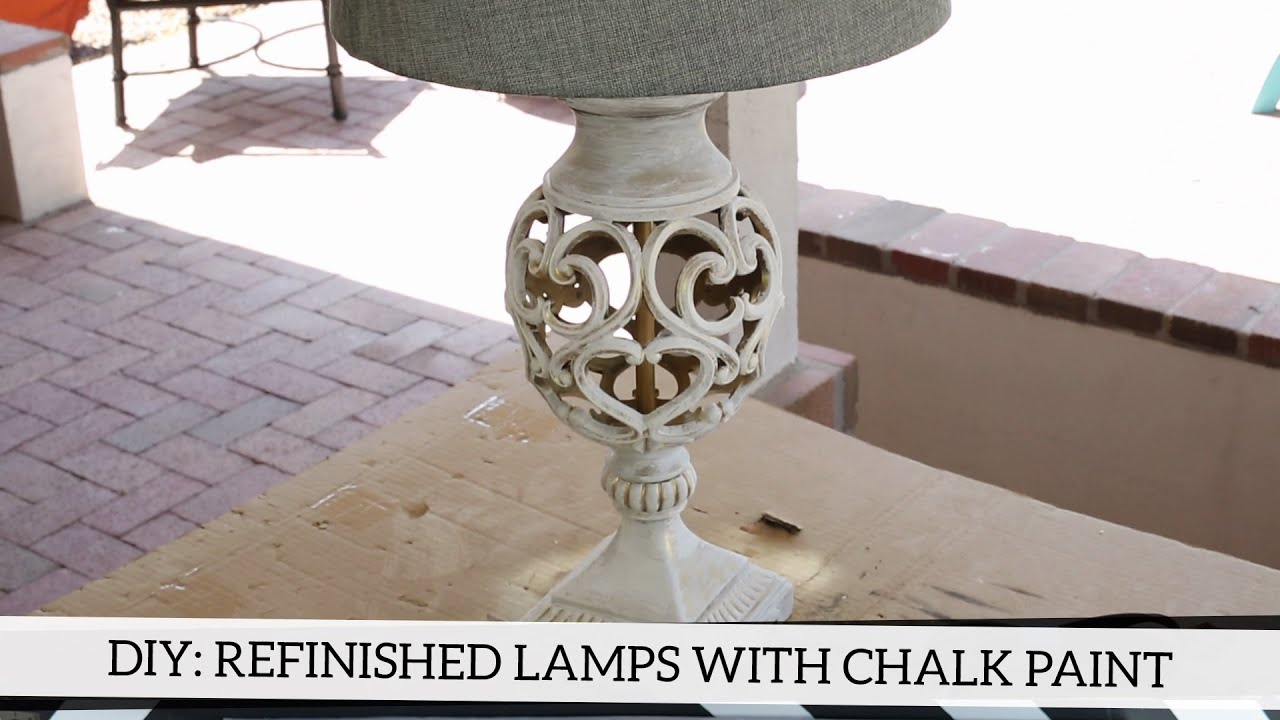 Diy refinished lamps with annie sloan chalk paint youtube arubaitofo Images