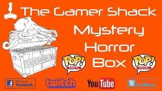 Mystery Horror Pop Vinyl Box Unboxing