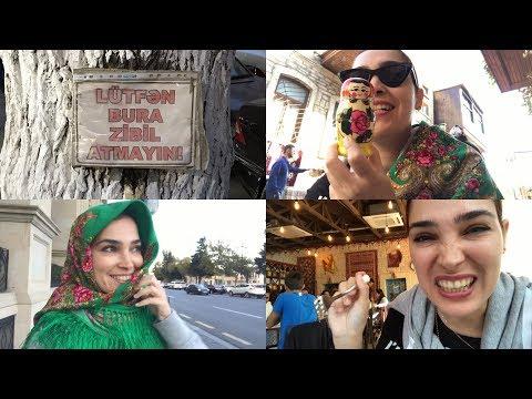 BAKÜ - Zeytin Reçeli | Market Alışverişi | Azerice öğrendim 😃