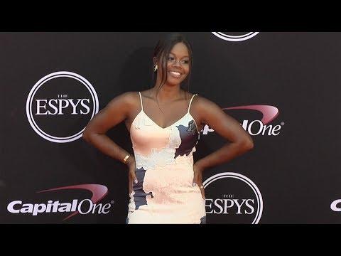 Gabby Douglas 2017 ESPY Awards Red Carpet