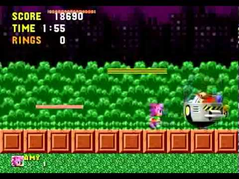 Game Over: Amy Rose in Sonic the Hedgehog - YouTube