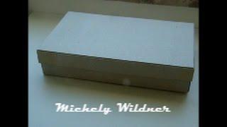 Como fazer caixa de papelão qualquer tamanho passo a passo