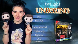 "Сумерки Сага. TWILIGHT Review: Funko Pop + ""Scene It.Game"" Twilight Collection. UNBOXING (ENG SUB)"