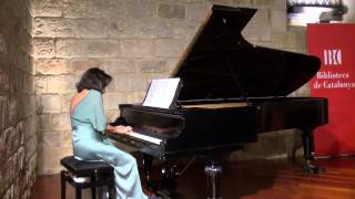 """Presentació del CD """"Música Callada"""" de F. Mompou , Sira Hernández, piano (PART 2)"""
