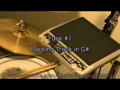 Funk #1 Backing Track in G#