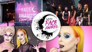 NYX FACE AWARDS FRANCE 2018: La Soirée!   GRWM