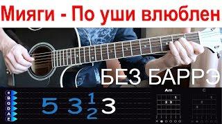 Download Мияги - По уши в тебя влюблен. Разбор на гитаре БЕЗ БАРРЭ Mp3 and Videos