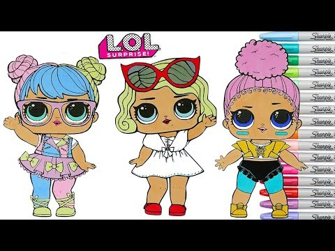 Tags of lol dolls coloring pages HQ Video Games
