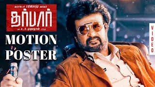 DARBAR (Tamil) – Official Motion Poster Reaction