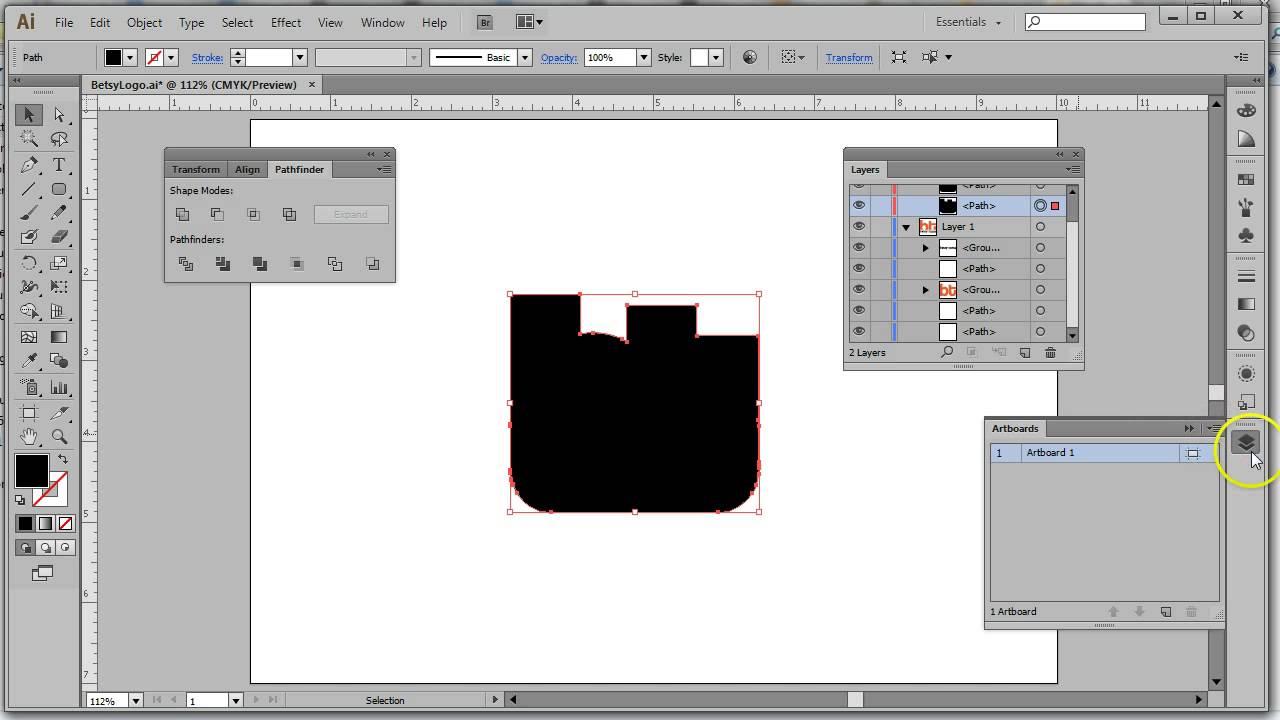 MGD213 - Creating a Die Line in Illustrator