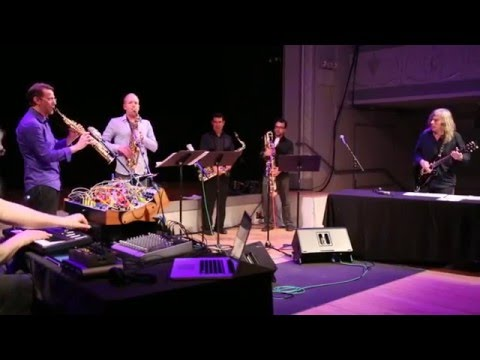 Ice Cream Time - Nick Didkovsky & PRISM Quartet W/ Thomas Dimuzio - Roulette - May 19 2013