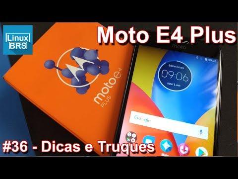 Motorola Moto E4 Plus - 28 Dicas e truques
