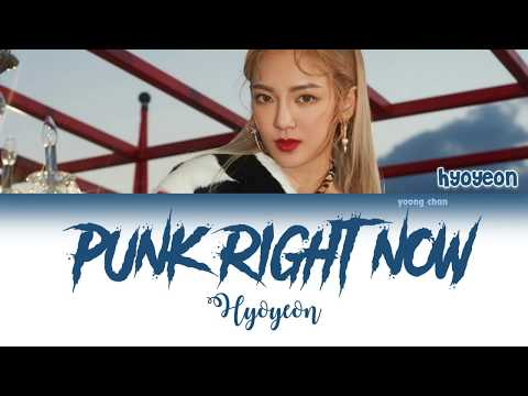 HYO & 3LAU - Punk Right Now (Korean Ver.) Lyrics