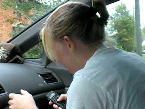 Girl poops by car #11