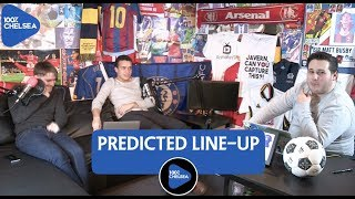 CHELSEA VS MANCHESTER UNITED || PREDICTED LINE-UP