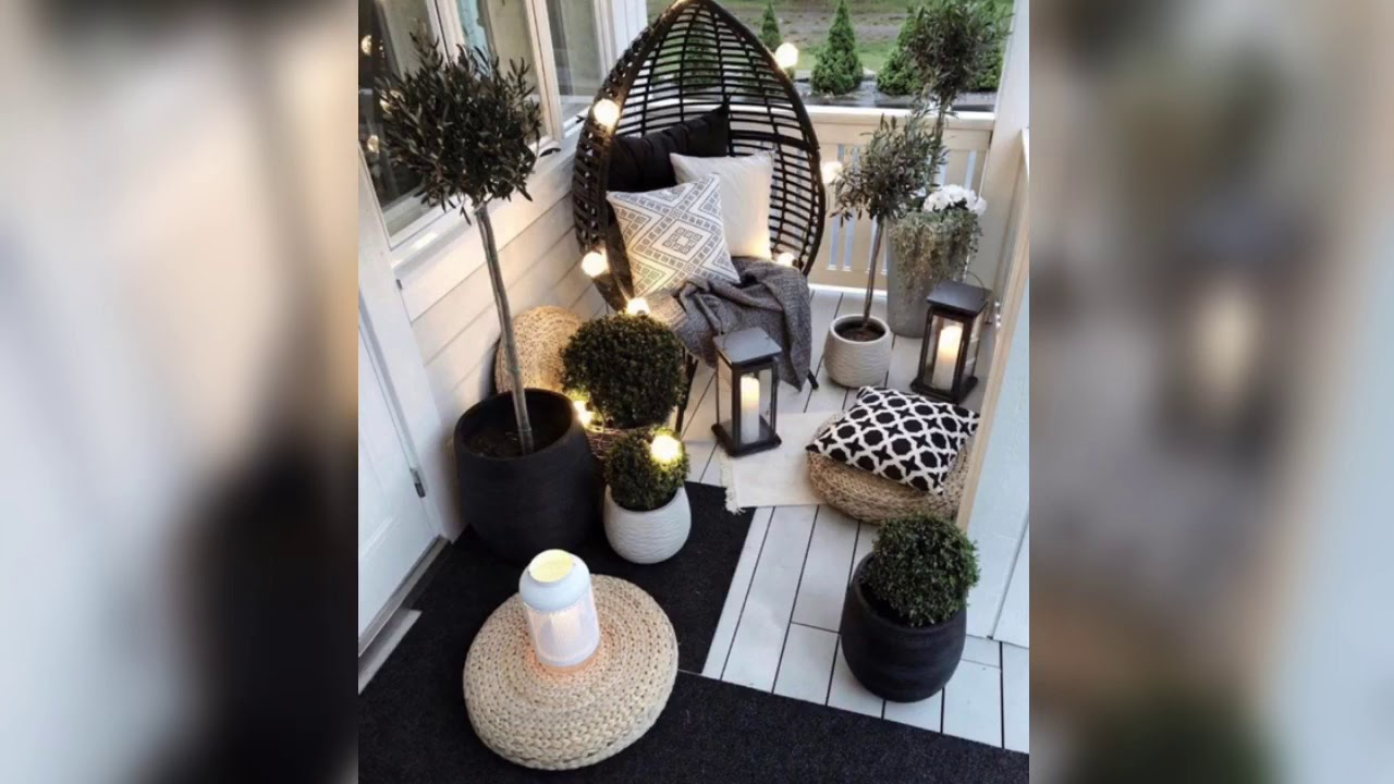 Wonderful Small Apartment Balcony Decor Ideas With Beautiful Plants Youtube