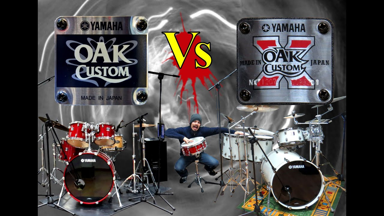 gabrisapiens yamaha oak custom vs yamaha oak custom x youtube. Black Bedroom Furniture Sets. Home Design Ideas
