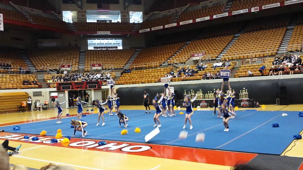 Lincolnview Lancer State Cheer Youtube