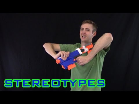 NERF STEREOTYPES | THE NOOB