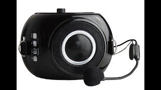 Громкоговоритель мегафон РМ-88 с плеером и записью усилитель голоса поясной(Краткий обзор громкоговорителя РМ-88., 2015-08-26T16:41:03.000Z)