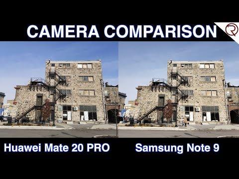 Huawei Mate 20 Pro VS Samsung Note 9 - Camera Comparison