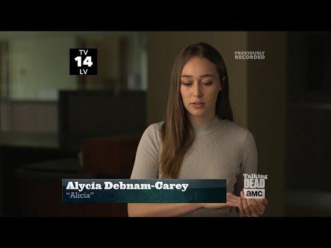 Talking Dead 825: 410  Alycia DebnamCarey