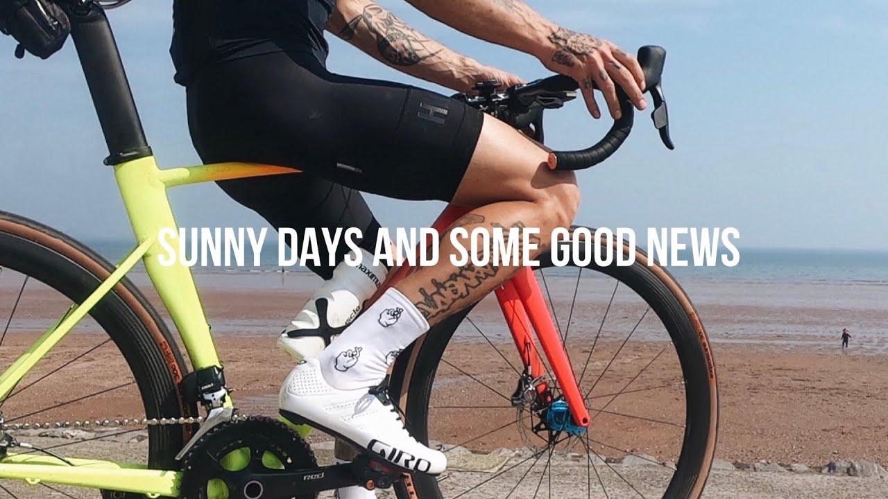 Sunny Bike Ride and Some Good News