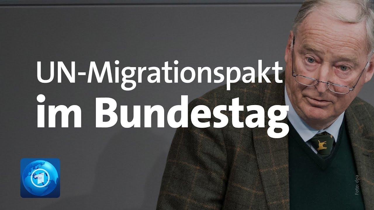 UN-Migrationspakt: Hitzige Debatte im Bundestag