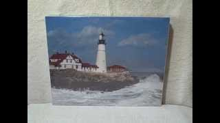 550 piece jigsaw puzzle headlight new unopened upc 096164854344 lighthouse