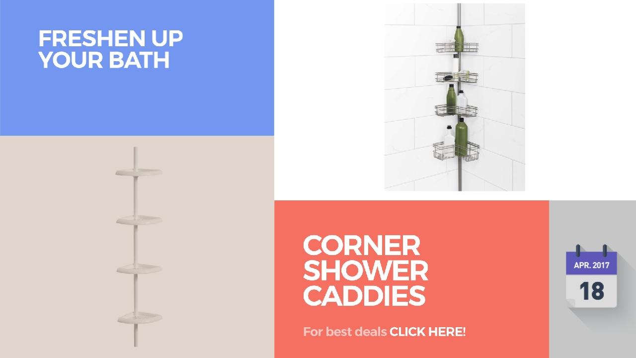 corner shower caddies collection freshen up your bath youtube corner shower caddies collection freshen up your bath