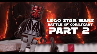 LEGO Star Wars Battle Of Coruscant Part 2