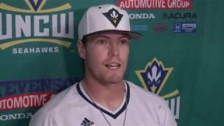 UNCW Baseball Players Postgame - College of Charleston (May 17, 2018)