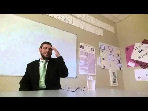 Speaking about the Har Nof tragedy (at Meira Academy Girls High School)