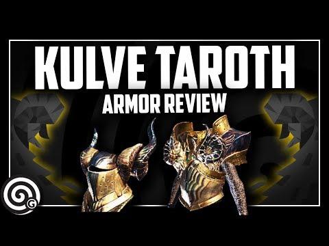 KULVE TAROTH - Armor Set Review | Monster Hunter World thumbnail