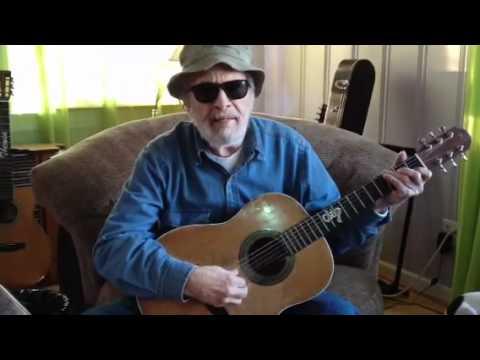merle haggard sings at his home