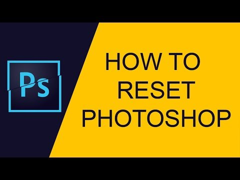 How to reset Photoshop Hindi tutorial | Multitalent video thumbnail